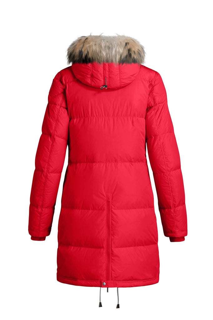 Parajumpers Women's Light Long Bear Eco Coat in Red - Last One!