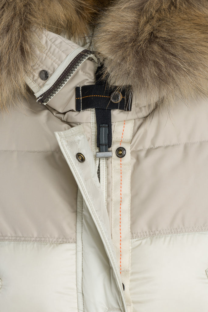 Parajumpers Women's Lynn Parka in Chalk - Last One!