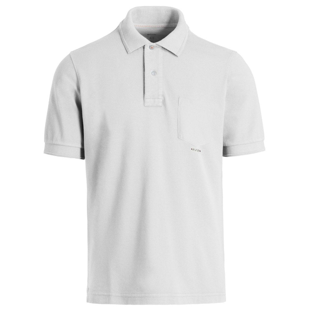 Parajumpers Men's Hardy Polo in White - Saratoga Saddlery & International Boutiques