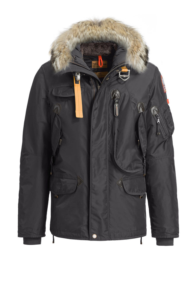 Parajumpers Men's Right Hand Jacket in Anthracite - Last One!