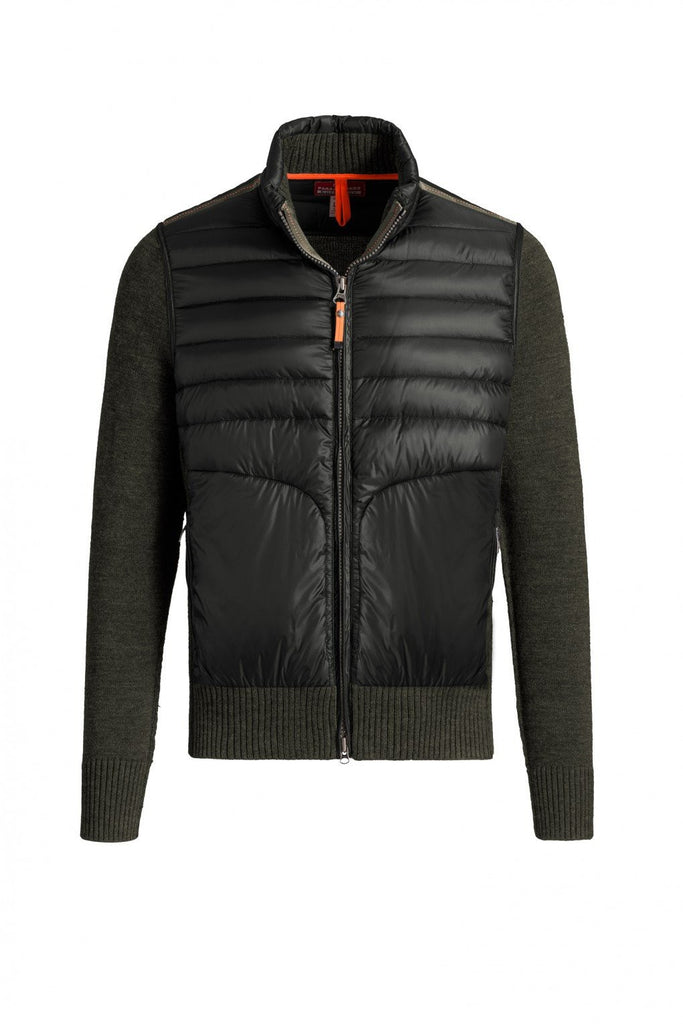 Parajumpers Men's Takuji Full Zip Cardigan in Bush - LAST ONE 40% OFF ON SALE! - Saratoga Saddlery & International Boutiques