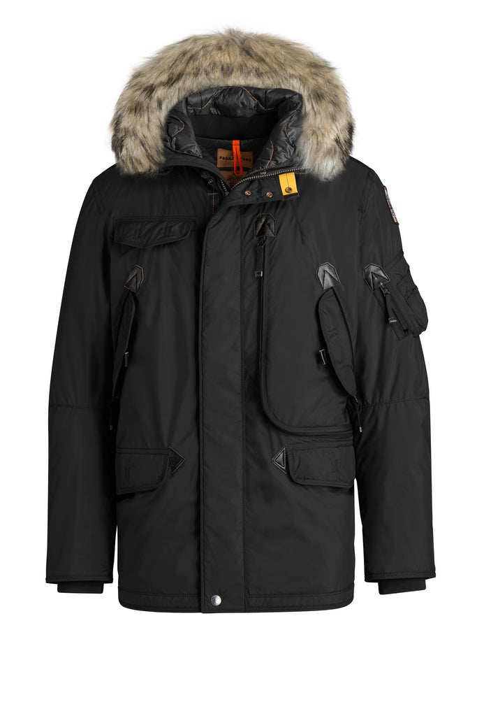 Parajumpers Men's Right Hand Light Weight Winter Jacket with Fur - Saratoga Saddlery & International Boutiques
