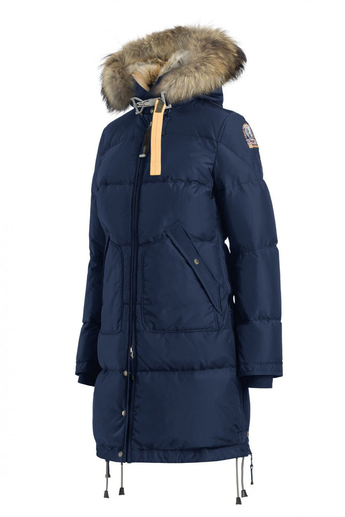 Parajumpers Women's Long Bear Coat in Marine - Saratoga Saddlery & International Boutiques