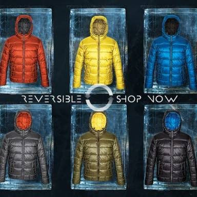Point Zero Reversible Lightweight Puffer Jacket