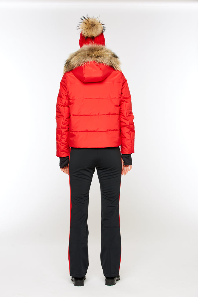 M. Miller Tess Insulated Channel Quilt Jacket