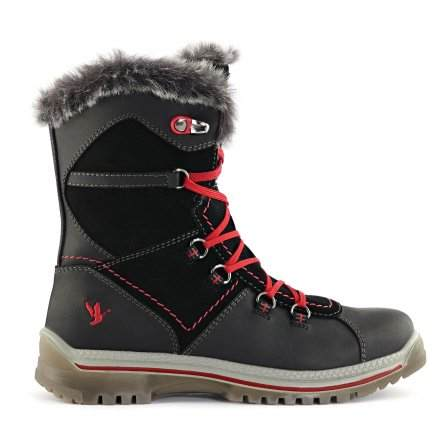Santana Canada Women's Waterproof Majesta 2 Black Winter Boot Extreme Cold Rated to -30C/-22F - Saratoga Saddlery & International Boutiques