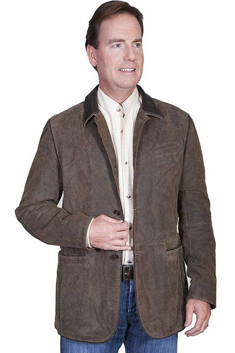 Scully 236 Men's Washed Lamb Blazer Jacket