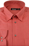 St Croix Men's Button Down Shirt in Red - Saratoga Saddlery & International Boutiques