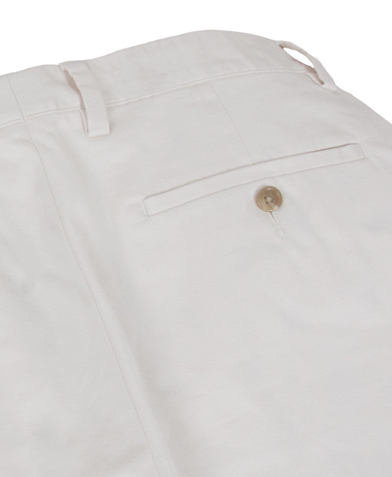 Tattersall ivory pants