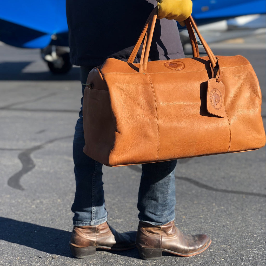 The Harvey Traveler Collection Leather Duffle bag