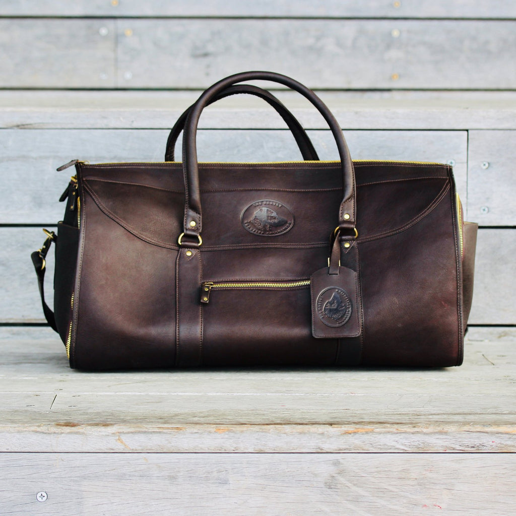 The Harvey Traveler Collection Garment Duffel Bag - Saratoga Saddlery & International Boutiques