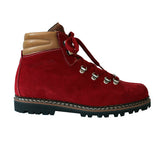Ammann Town II Boot in Red Suede