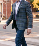 7 Downie St. Virginia Plaid Blazer