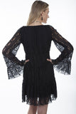 Scully Women's Lace Dress in Black - Saratoga Saddlery & International Boutiques