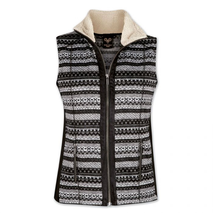 Wooly Bully Wear Nordic Vest On Sale! - Saratoga Saddlery & International Boutiques
