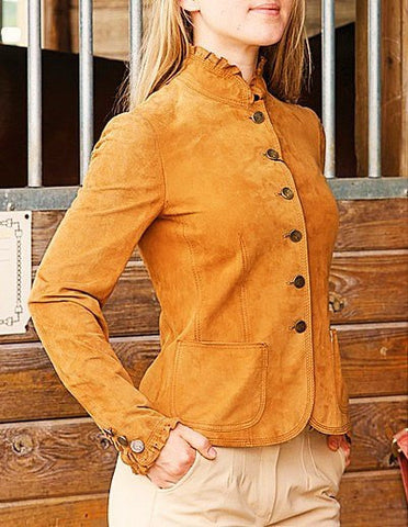 Nicole Benisti Chelsea JK9080 Jacket in Military Gold