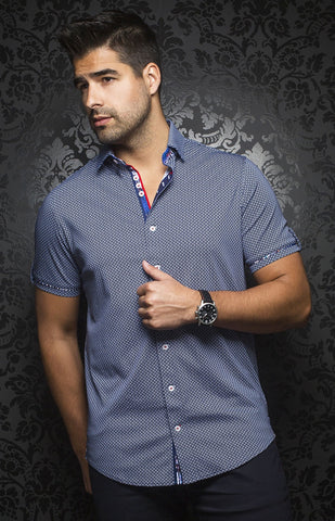 Au Noir Horacio LS Cotton Shirt