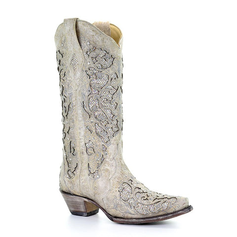 Corral Wedding Line Women's Maria Cowboy Boot A3521