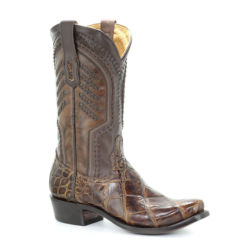 Corral Men's Jeremiah Alligator Cowboy Boot A3473 - Saratoga Saddlery & International Boutiques