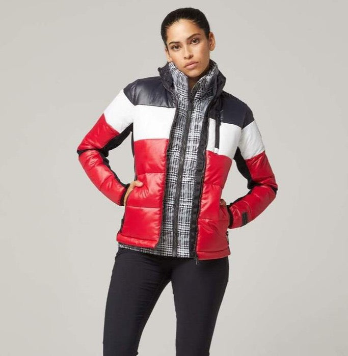 Alp n Rock Womens Peyton Jacket in Red - Saratoga Saddlery & International Boutiques