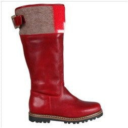 Ammann Bern Boot in Swiss Cross & Red Leather - Saratoga Saddlery & International Boutiques
