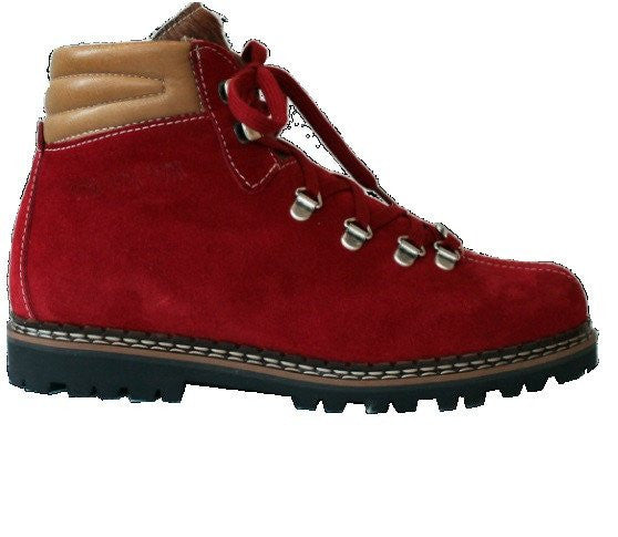 Ammann Town 3, Red Suede - Saratoga Saddlery