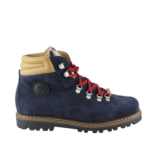 Ammann Town II Boot in Navy Suede