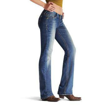 Ariat Amber Stretch Jeans in Brash - Saratoga Saddlery