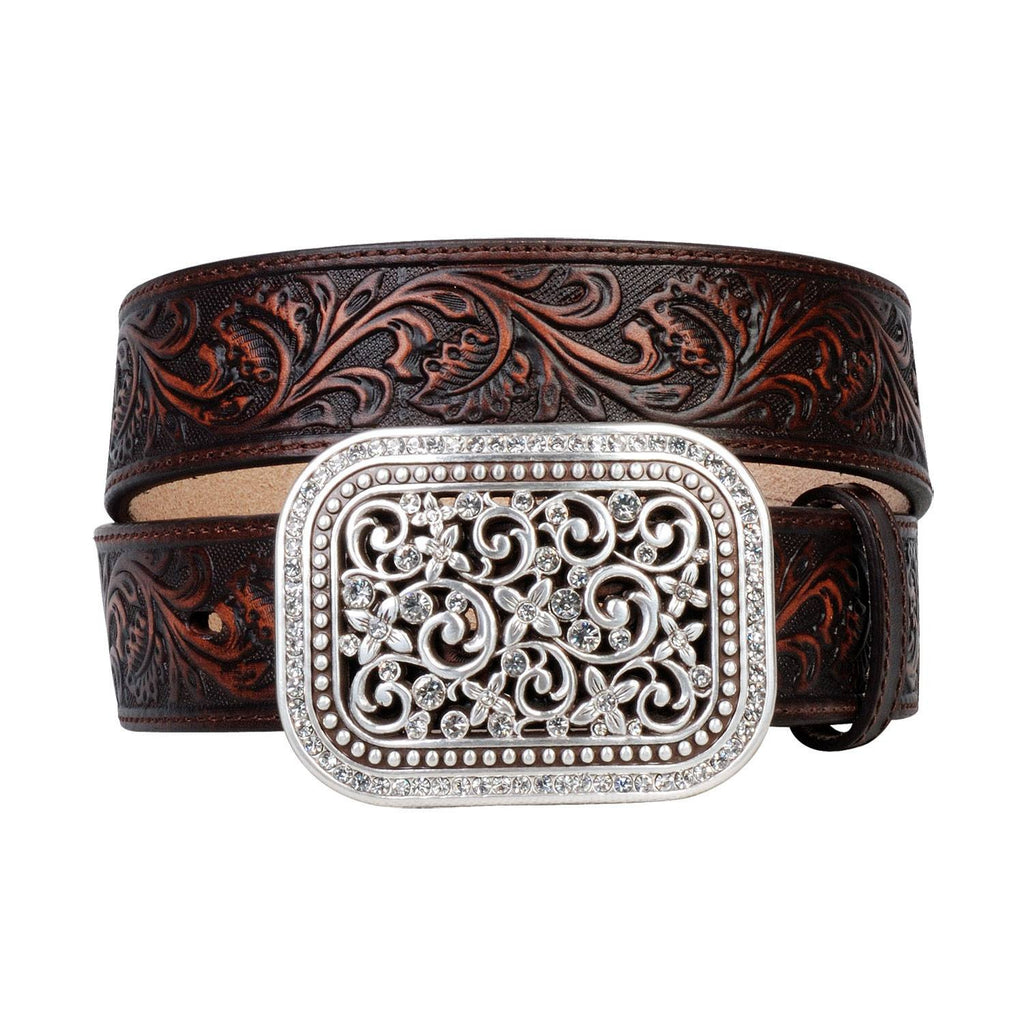 Ariat Rhinestone Fillagree Belt - Saratoga Saddlery