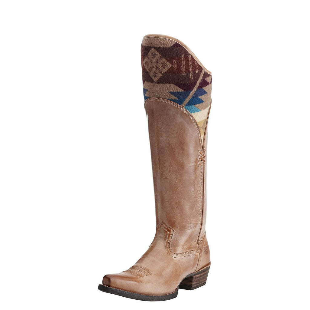 Ariat Caldera Boot in Tawny Pendleton Free Shipping - Saratoga Saddlery & International Boutiques