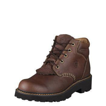 Ammann Meiringen Suede Shoe in Brown