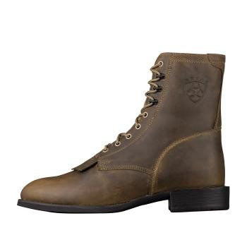 Ariat Heritage Lacer Distressed Brown - Saratoga Saddlery