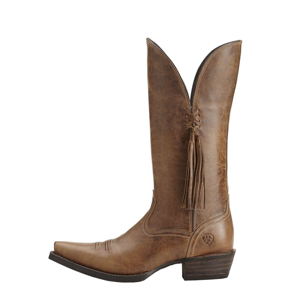 Ariat Loretto Boot in Brown - LAST PAIR - Saratoga Saddlery & International Boutiques