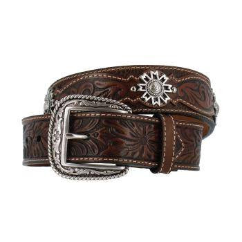 Ariat Sands Belt in Antique Brown