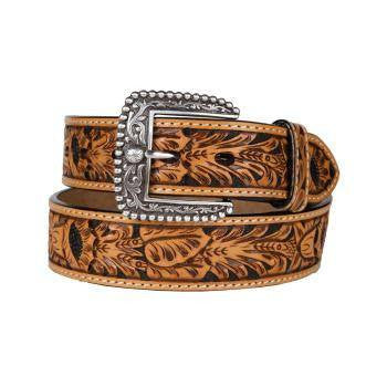 Ariat Range Belt Saddle Tan - Saratoga Saddlery & International Boutiques