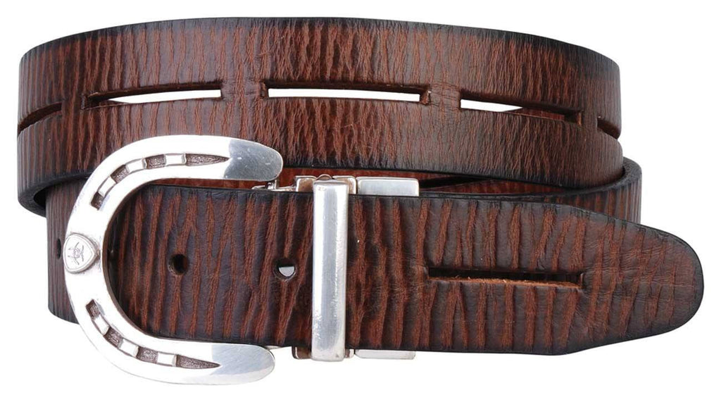 Ariat Regal Belt Reversable Black/Brown - Saratoga Saddlery