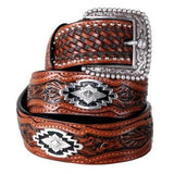 Ariat Sands Belt in Antique Brown - Saratoga Saddlery