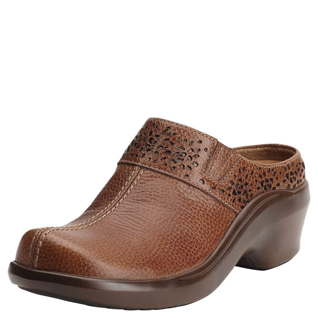 Ariat Santa Cruz Mule Almond Brown - Saratoga Saddlery
