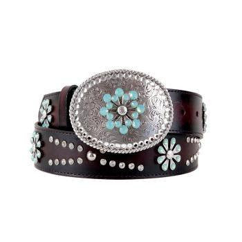 Ariat Snowflake Belt - Saratoga Saddlery