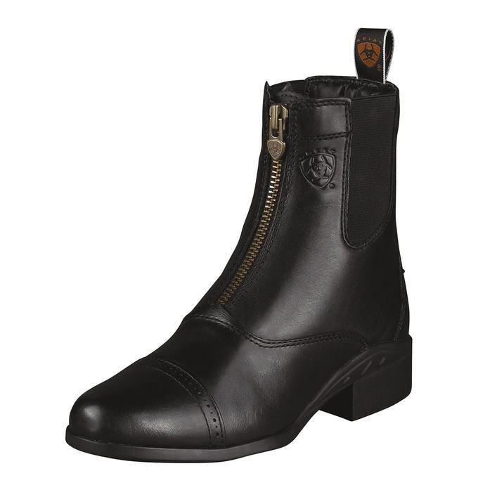 Ariat Women's Heritage III Zip Paddock Black - Saratoga Saddlery & International Boutiques