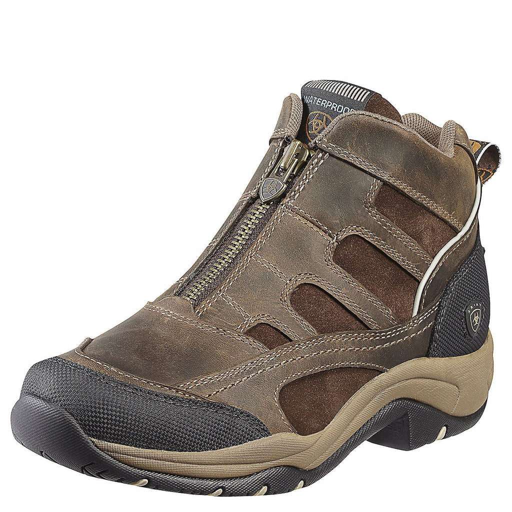 Ariat Women's Terrain Zip H2O Distressed Brown - Saratoga Saddlery