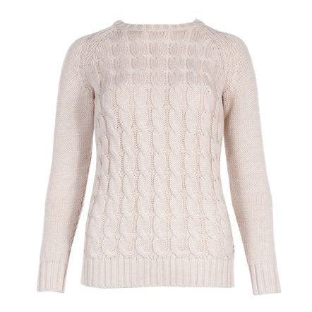 B Vertigo Dina Women's Knitted Sweater in Cream - Saratoga Saddlery