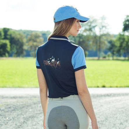B Vertigo Lauren Full Seat Breeches in Dove Grey - Saratoga Saddlery