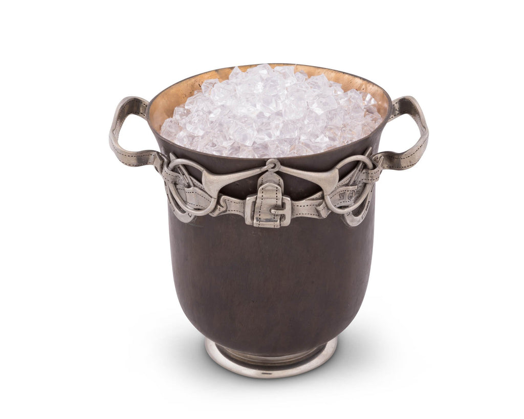 Vagabond House Equestrian Solid Bronze Ice Bucket - Saratoga Saddlery & International Boutiques