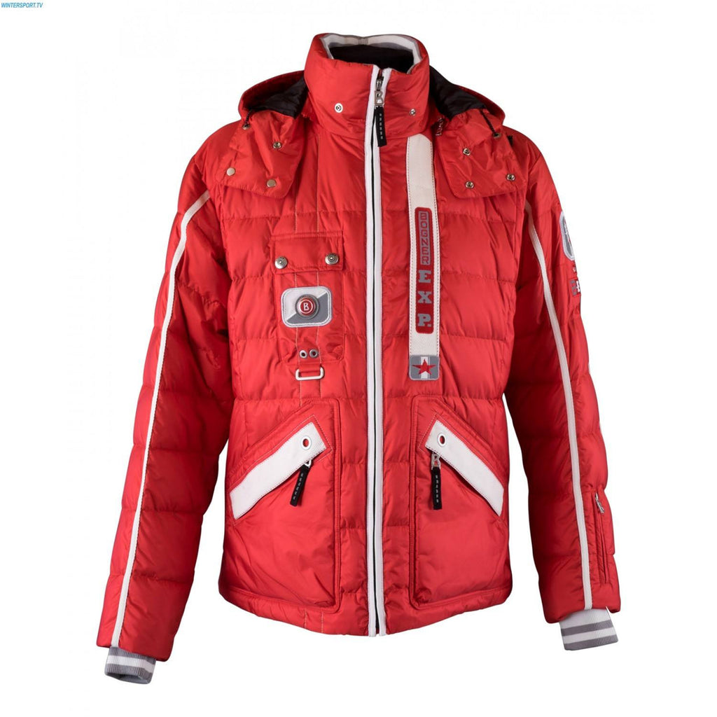 Bogner Men's Down Jacket PIAN Red - Saratoga Saddlery