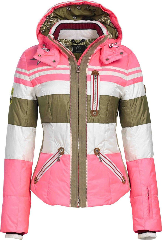 Bogner Women's Dalila Down Ski Jacket in Pink - Saratoga Saddlery