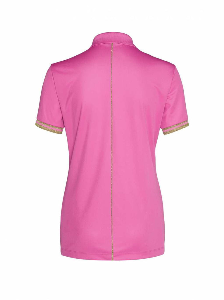 Bogner Sport Leana Golf Polo Shirt in Pink