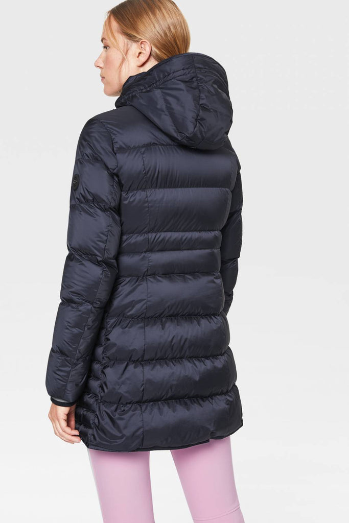 Bogner Hana Down Jacket Navy - Saratoga Saddlery & International Boutiques