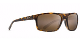 Maui Jim Byron Bay Sunglasses in Matte Tortoise with HCL Bronze Lens