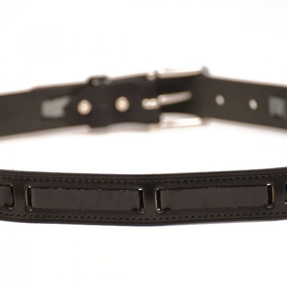 Clever with Leather London Patent Belt